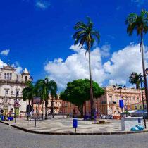 Salvador da Bahia-Terreiro de Jesus e Catedral Basilica