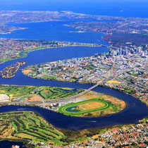 Perth-The Swan River from Maylands
