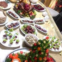 収穫祭&忘年会 2014:  料理