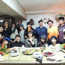 収穫祭&忘年会 2014:  集合写真①