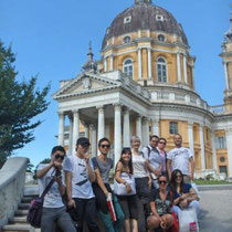 Porticando-Basilica di Superga