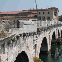 Rimini-Antico ponte di Tiberio