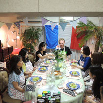 ブルターニュ郷土料理教室 2015:お腹ペコペコ