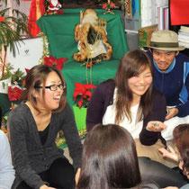 EuroLingualクリスマスパーティー2012 先生 ②