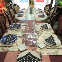 ブルターニュ郷土料理教室2015:プレート