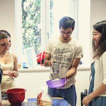 Scuola Dante Alighieri Recanati-Lezione di cucina