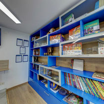 Moscow Centre - Our library in the lunge area