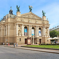 Lviv-Theatre of Opera and Ballet