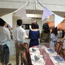 ブルターニュ郷土料理教室 2015:楽しくレッスン