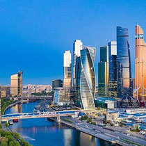 Moscow - The Moscow International Business district