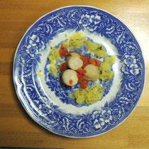ブルターニュ郷土料理教室 2015:ホタテ