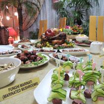 収穫祭&忘年会 2014:  料理①