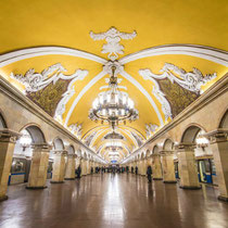 Moscow - The worldwide famous Moscow underground