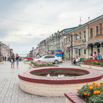 Vladivostok-Streets and fountains