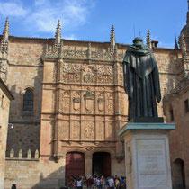 Salamanca- achada de la Universidad de Salamanca