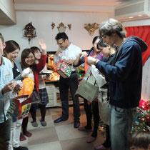 EuroLingualクリスマスパーティー2013 プレゼント③