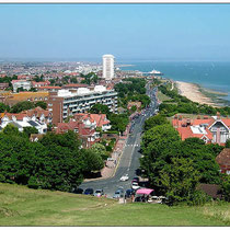 Eastbourne-Coming down off Beachy Head