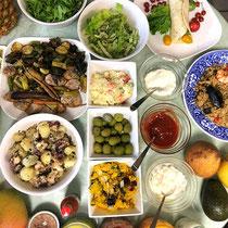 ① スペイン語圏料理の数々