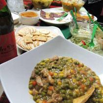 EuroLingualクリスマスパーティー2012 料理② チキンのビール煮