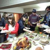 収穫祭&忘年会 2014:  いただきます