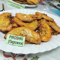 ① Piroshki - Пирожки - ピロシキ(ミート)
