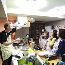 ブルターニュ郷土料理教室 2015:泡立てた卵白