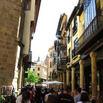 Salamanca-Calle típica