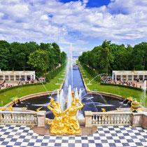 Saint Petersburg - The Peterhof palace