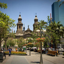 Santiago de Chile-Plaza de Armas