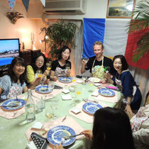 ブルターニュ郷土料理教室 2015:完食