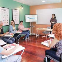 Expanish-Lección de grupo