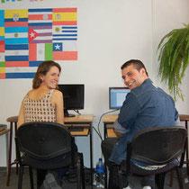 Ecela-(Buenos Aires, Argentina)-Estudiantes trabajando