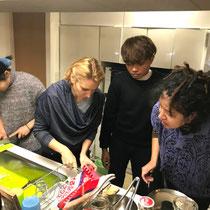 ブータン料理の調理②