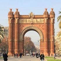 Barcelona-Arco del Triunfo