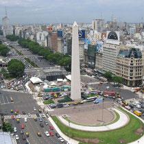 Buenos Aires-Avda. 9 de Julio (Obelisco)
