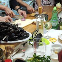ブルターニュ郷土料理教室 2015:みんなでレッスン