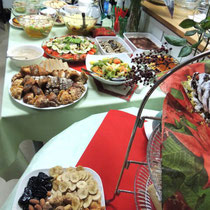 EuroLingualクリスマスパーティー2012 料理①