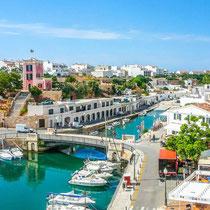 Ciutadella-Panorámica del puerto