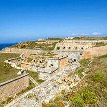 Menorca-Fortaleza de la Mola en Menorca