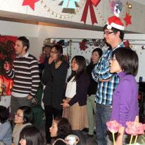 EuroLingualクリスマスパーティー2012 先生 ⑩
