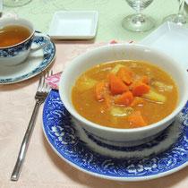 白インゲン豆のシチュー