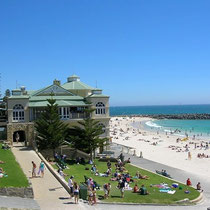 Perth-Cottestoe Beach