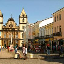 Salvador da Bahia-Fachada da Igreja São Francisco no Pelourinho