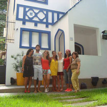 Instituto Cultural Idioma  (Salvador da Bahia)-The Garden of the school and students