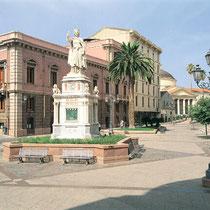 Oristano-Piazza  Eleonora d'Arborea