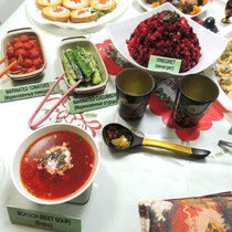 ④ ロシア料理の数々2