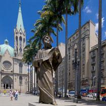 São Paulo-Praça e Catedral  da Sé