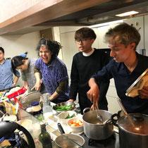 ブータン料理の調理①