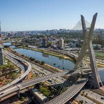 São Paulo-Ponte Estaiada Octávio Frias de Oliveira