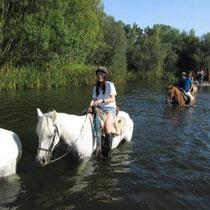 Letra Hispánica-Paseo a caballos por el río Tormes